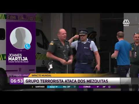 Chileno en Nueva Zelanda testigo de la masacre: El tirador iba 'vestido completamente de militar'
