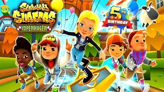 Subway Surfers 5th Birthday: Copenhagen - Samsung Galaxy S8+ Gameplay