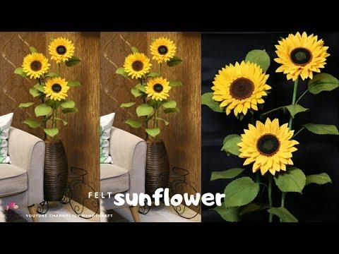 Gambar Kolase Bunga Matahari Dari Kertas Origami Kertasbulat
