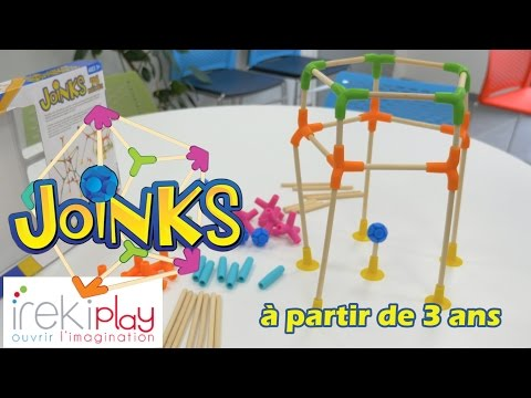 Joinks - Démo du jeu de construction 3D ultra flexible