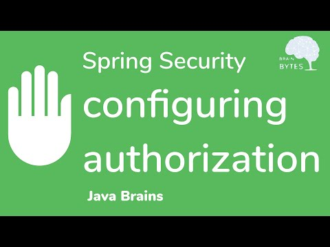 how-to-configure-spring-security-authorization---java-brains