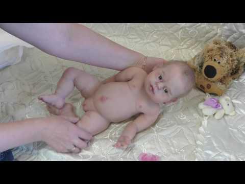 Полностью силиконовая кукла реборн