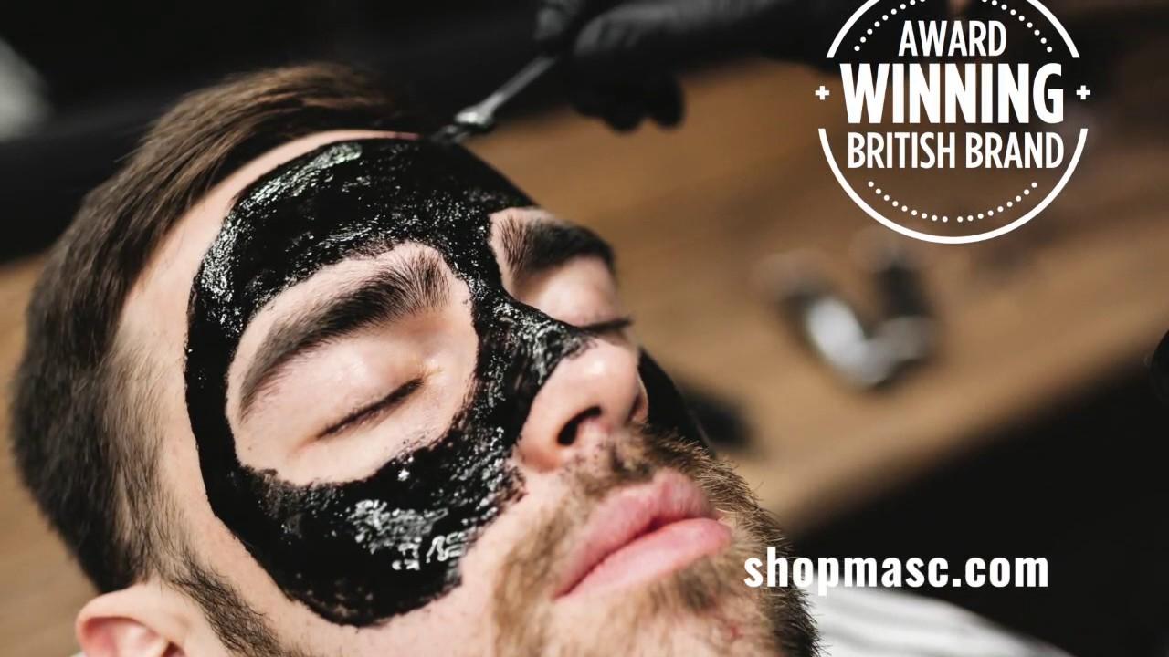 Barber Pro Face Masks For Men - Charcoal Peel Off Masks & More