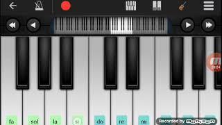 """Как играть на пианино """"Катюша"""""""