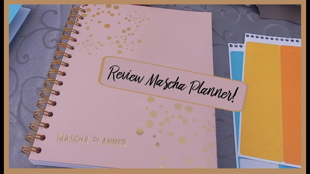 Review mascha planner plan with san youtube for For planner