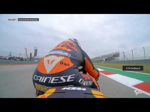 Americas GP: KTM OnBoard