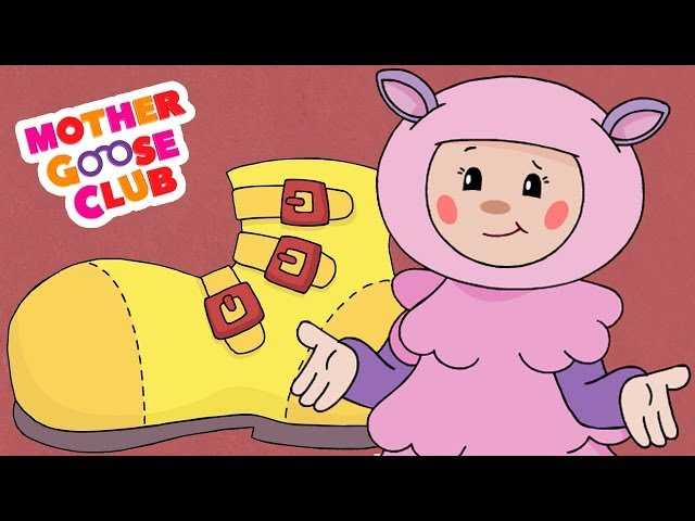 One Two Buckle My Shoe Animated - Mother Goose Club Rhymes for Kids