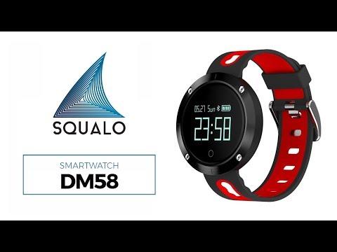 Smartwatch DM58 Monitor de Saúde IP68 IOS e Android Sport