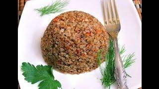 КАША ГРЕЧНЕВАЯ ПО-ДЕРЕВЕНСКИ Рецепт гречневой каши с морковью и луком в скороварке, мультиварке.