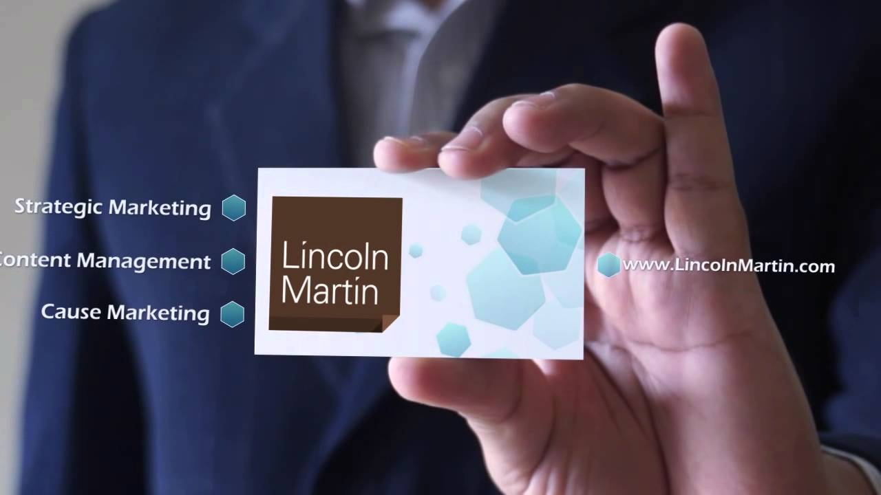 Business Card 3D Animation Video Advertising - YouTube