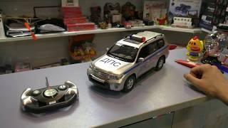 радиоуправляемая машина Rastar Toyota Land Cruiser 1:16 обзор