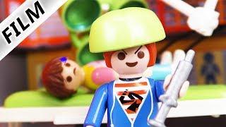 Familie Vogel - DOKTOR JULIAN - Nachts allein im Krankenhaus | Kinderserie Playmobil Film deutsch