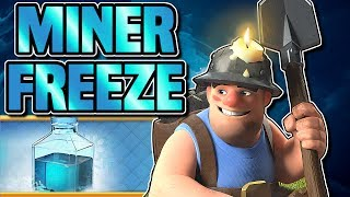 MASS MINER FREEZE vs MASS MINER HEAL | DO FREEZE SPELLS BENEFIT MASS MINER | Clash of Clans