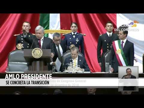 AMLO es el Presidente [Toma de Protesta de López Obrador]