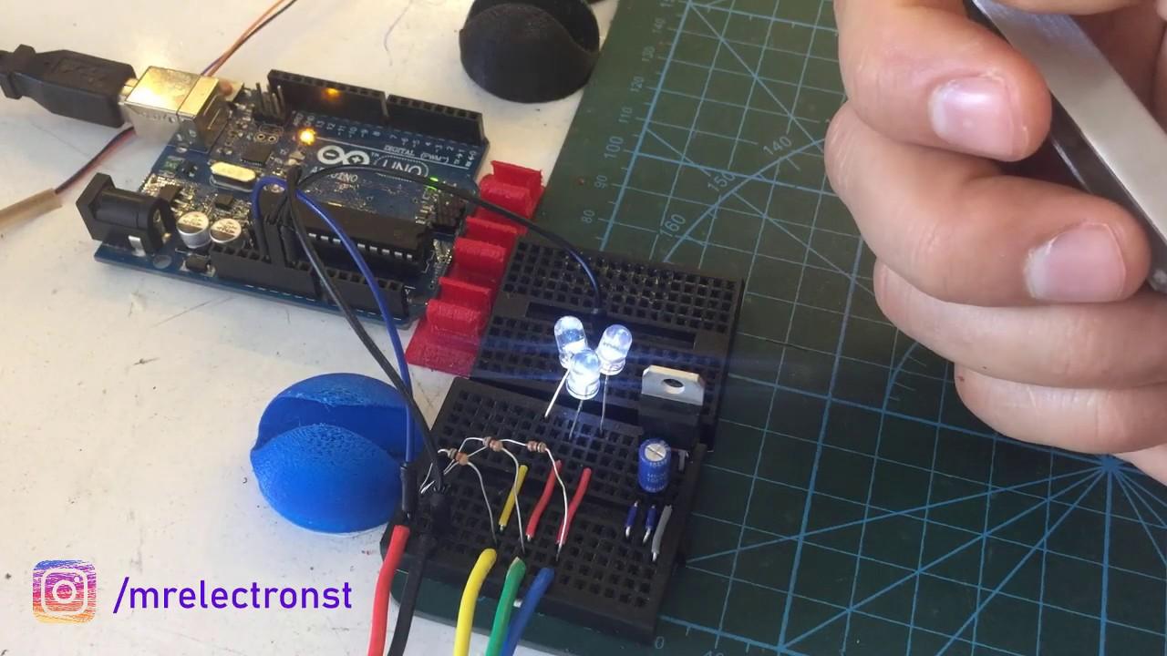 BLDC Motor Controller Hall Sensor Circuit Yapısının ...
