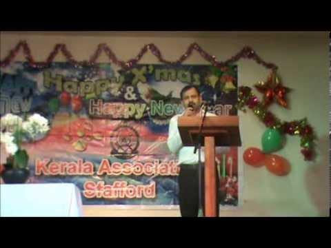 christmas welcome speech