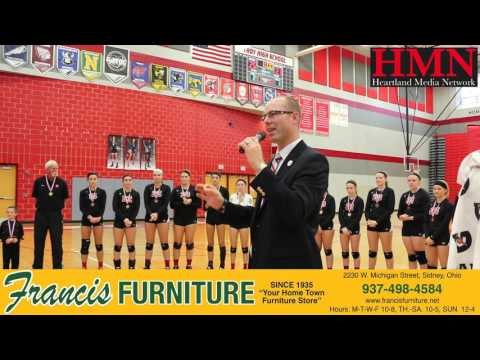 Fort Loramie vs Fairlawn High School Volleyball 10/31