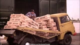 Olsen-banden på sporet (1975) - Lastvognen braser sammen