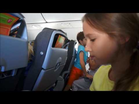 Flights from Moscow to Paphos Boeing-737-800 S7 Globus (муз. версия)