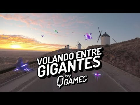 FPV QGames - Volando entre gigantes - Racing drone and Freestyle Drones