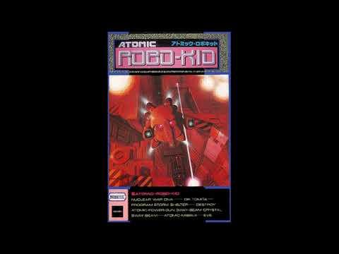 Atomic Robo-Kid - X68000 - Roland MT-32 music - 1990