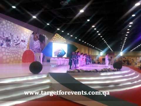 Target for events - Doha education exhbition 2013 - uploaded by Hesham Magdy - معرض الدوحه للتعليم