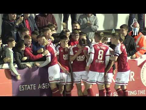 Goal: Darragh Burns (1st vs Wexford 17/09/2021)