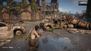 Gears of War 4 Versus Multiplayer Gameplay PC Gridlock Max Settings