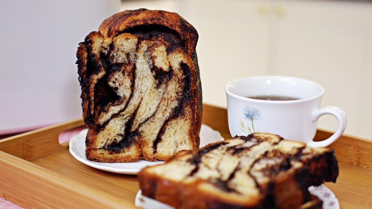 Chocolate Swirl Bread Babka Panasonic Bread Maker Sd P104 Recipe By Zatayayummy