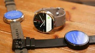 Обзор самых красивых смарт часов - MOTO 360 (2) второго поколения 2015
