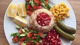 Tel şehriyeli pilav tarifi. Вкуснейший рассыпчатый рис по-турецки! #telşehriye#pilav#рис#рассыпчатый
