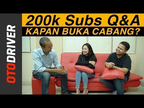 200k Subs Q&A | OtoDriver