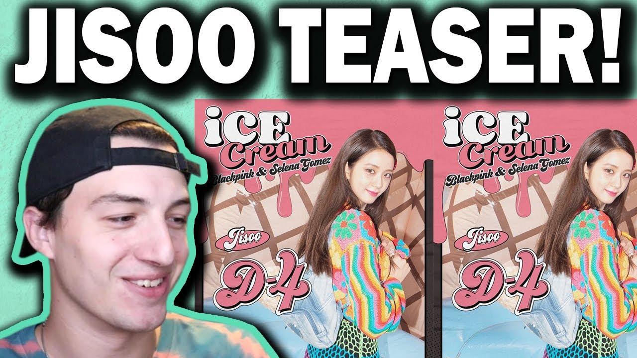 Blackpink Jisoo X Selena Gomez Ice Cream D 4 Poster Youtube