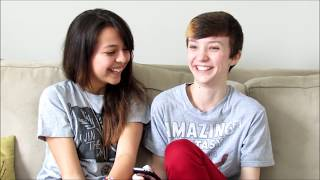 One of ChandlerNWilson's most viewed videos: Girlfriend Tag TRANSGENDER EDITION