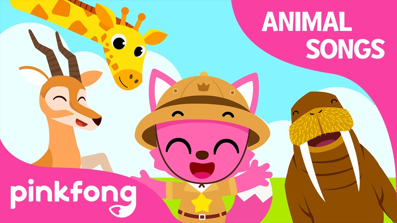 Jambo Animals   Animal Songs   Learn Animals   Pinkfong Animal Songs for Children