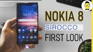 Nokia 8 Sirocco first look: classy is an understatement