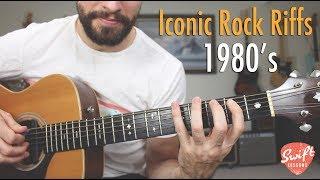 Iconic Rock Guitar Riffs of the 1980's - AC/DC, Joan Jett, Ozzy!