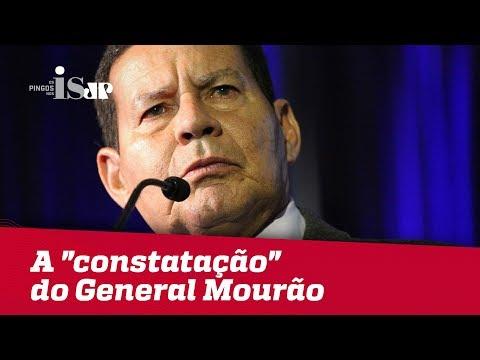 """A """"constatação"""" do General Mourão (e de Barack Obama)"""