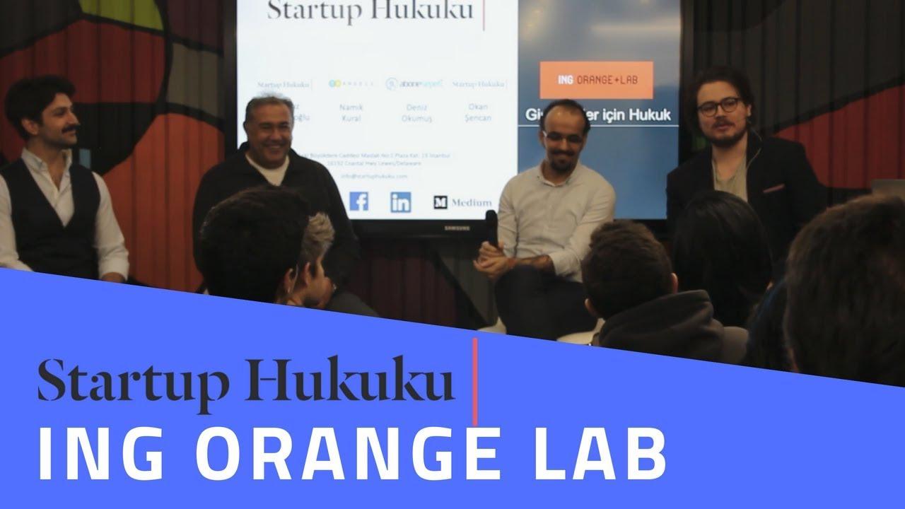 Startup Hukuku Girişimciler Için Hukuk Ing Orange Lab 2602