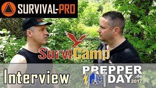 Interview mit Daniel vom SurviCamp BOB Bug Out Bag Fluchtrucksack
