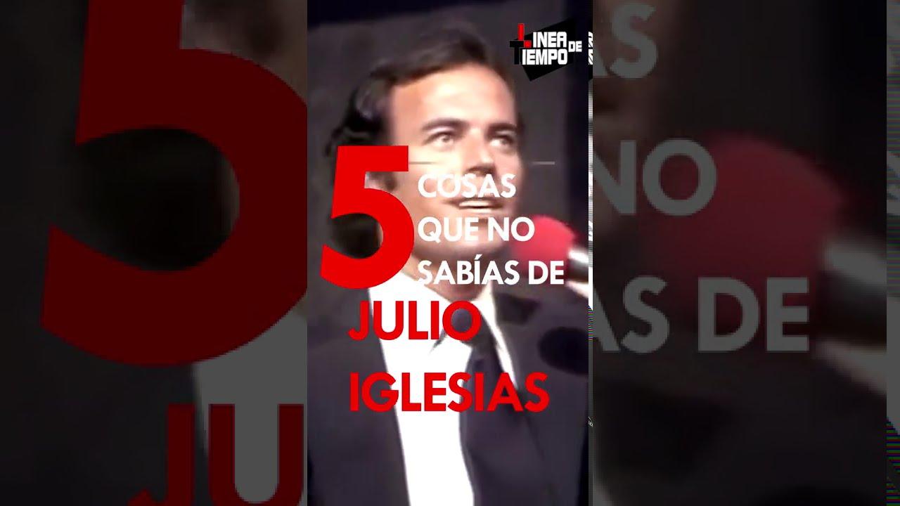Julio Iglesias 5 cosas que no sabias de el  | Linea de Tiempo #Shorts