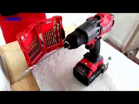 Taladro Rotmartillo Milwaukee M18 FUEL 2804-20, El Taladro a batería mas potente del mercado