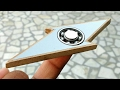 How To Make a Fidget Spinner - Flash Sign Spinner