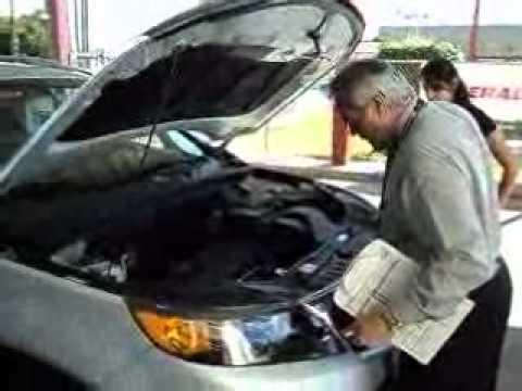 AllStar Kia Pomona vehicle check in walk-a-round