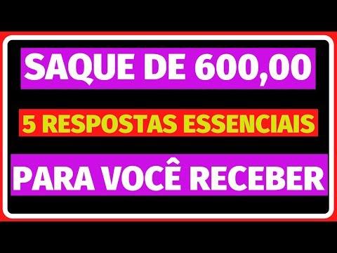 SAQUE DE 600 REAIS 5 RESPOSTAS IMPORTANTES PARA VOCÊ RECEBER O BENEFÍCIO