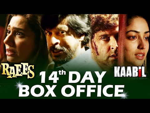 RAEES Vs KAABIL | 14th DAY BOX-OFFICE COLLECTION - ROCK STEADY
