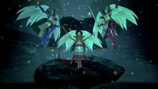 Shin Megami Tensei 3 Nocturne Boss Gabriel, Uriel, Raphael & Futomimi [HARD]