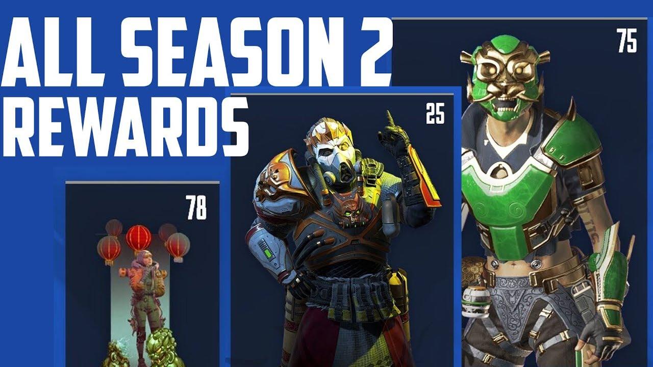 Apex Legends season 2 battle pass: release date, price, and unlocks