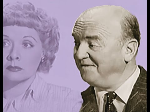 TCM tribute to William Frawley Fred Mertz   I Love Lucy, Lucille Ball