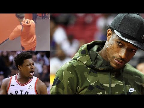 Kyle Lowry MISSES DeMar DeRozan! Does LONELY Handshake In Memory Of Lost Friend
